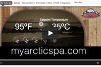 A video about Visit Myarcticspa.com